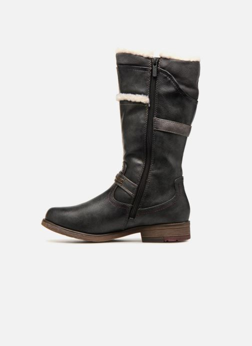 Bottes Mustang shoes Isa Gris vue face