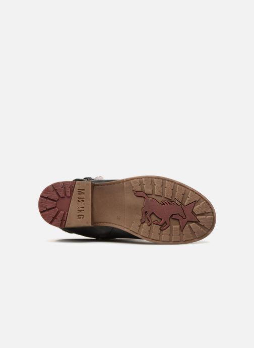 Bottes Mustang shoes Isa Gris vue haut