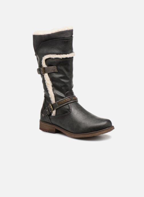 Bottes Mustang shoes Isa Gris vue détail/paire