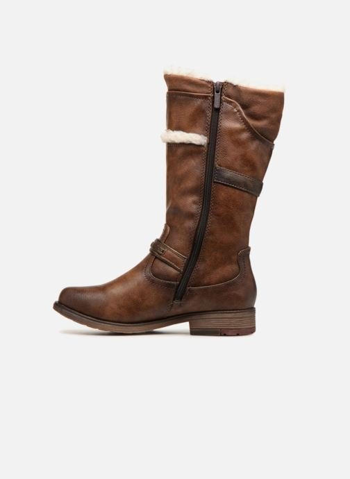Bottes Mustang shoes Isa Marron vue face