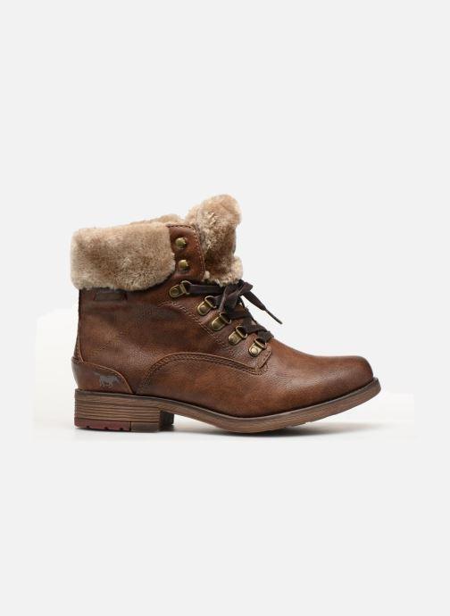Boots en enkellaarsjes Mustang shoes Bianca Bruin achterkant