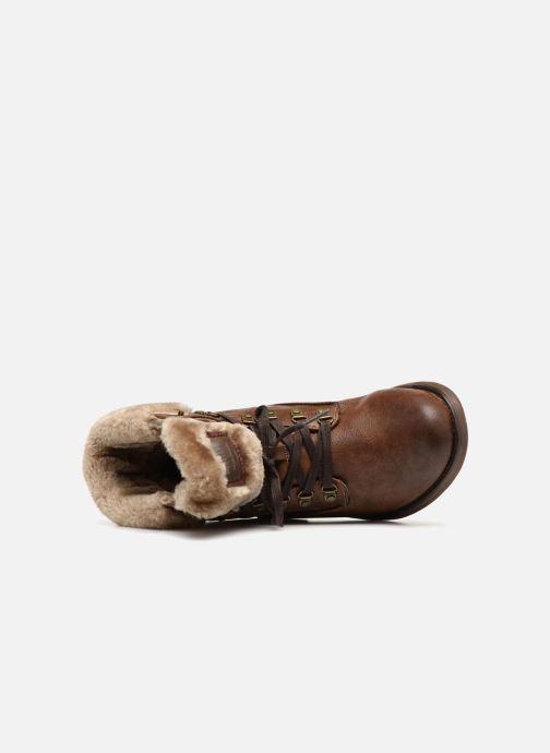 Boots en enkellaarsjes Mustang shoes Bianca Bruin links