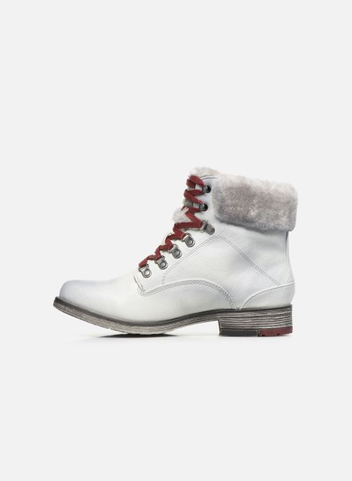 Bottines et boots Mustang shoes Bianca Blanc vue face