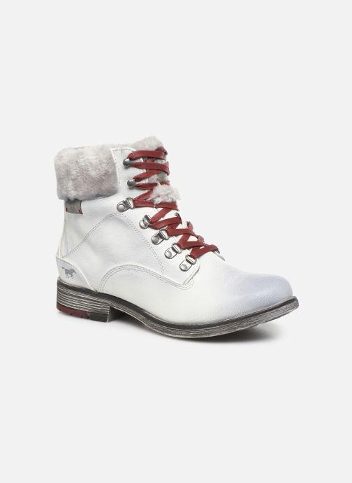 Bottines et boots Mustang shoes Bianca Blanc vue détail/paire