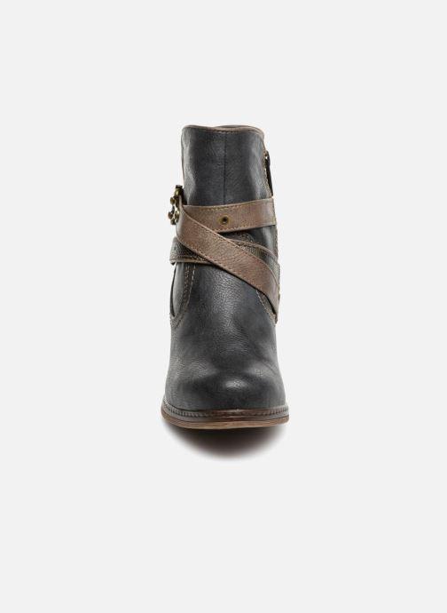 Bottines et boots Mustang shoes Vilou Bleu vue portées chaussures