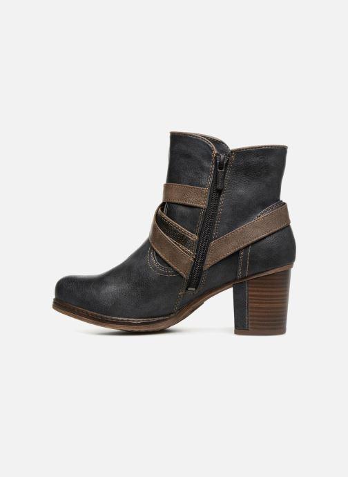 Bottines et boots Mustang shoes Vilou Bleu vue face