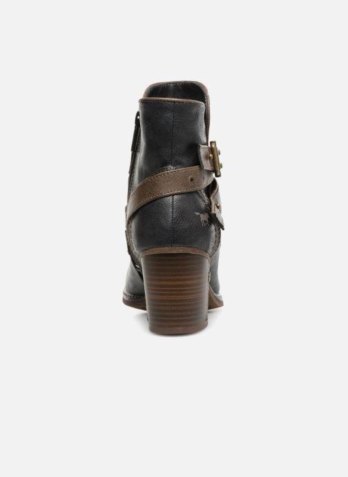 Bottines et boots Mustang shoes Vilou Bleu vue droite