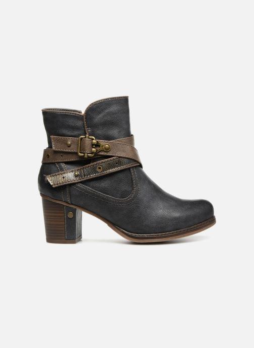 Bottines et boots Mustang shoes Vilou Bleu vue derrière