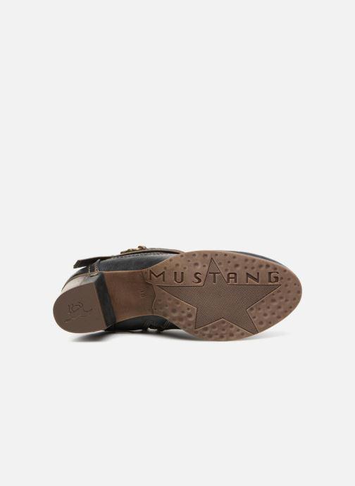 Bottines et boots Mustang shoes Vilou Bleu vue haut