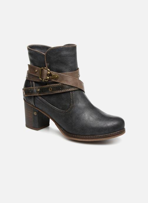 Bottines et boots Mustang shoes Vilou Bleu vue détail/paire