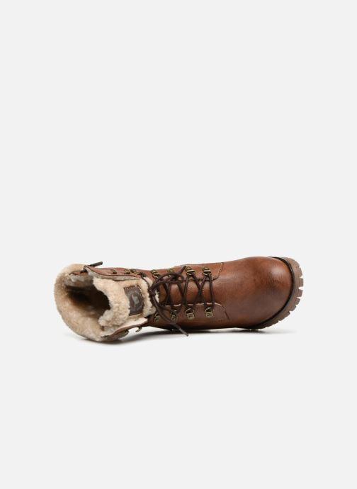 Stivaletti e tronchetti Mustang shoes Nouri Marrone immagine sinistra