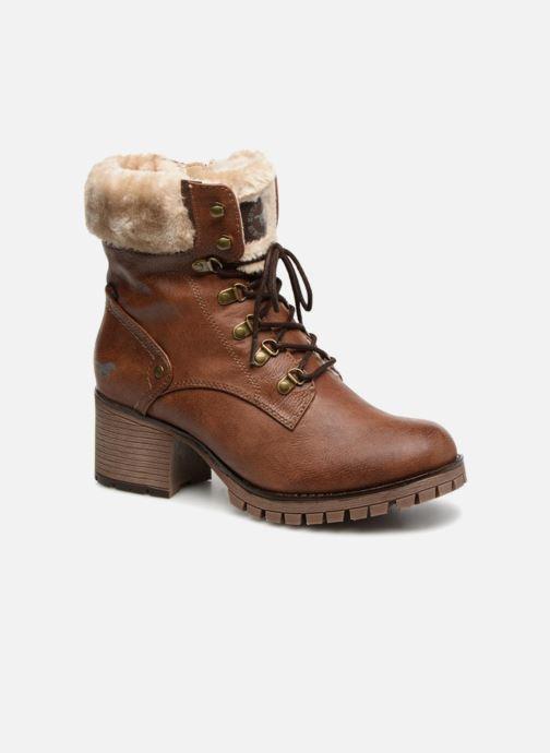 Stivaletti e tronchetti Mustang shoes Nouri Marrone vedi dettaglio/paio