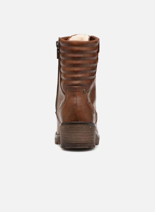 Stivaletti e tronchetti Mustang shoes Lara Marrone immagine destra