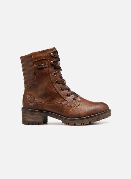 Bottines et boots Mustang shoes Lara Marron vue derrière