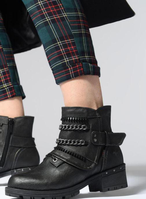 Bottines et boots Mustang shoes Gea Gris vue bas / vue portée sac