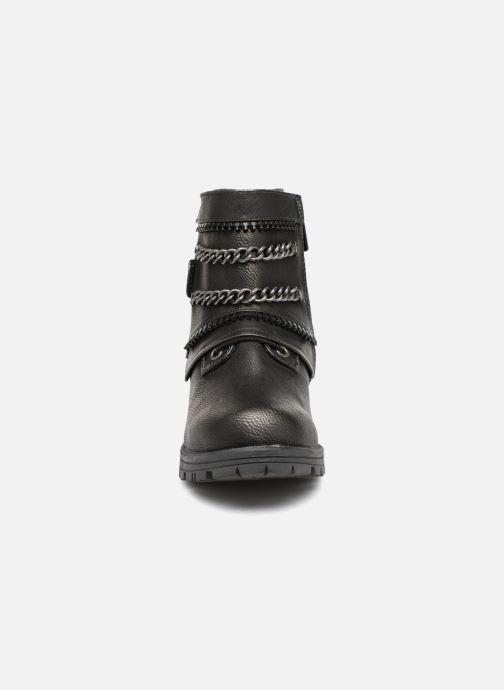 Bottines et boots Mustang shoes Gea Gris vue portées chaussures