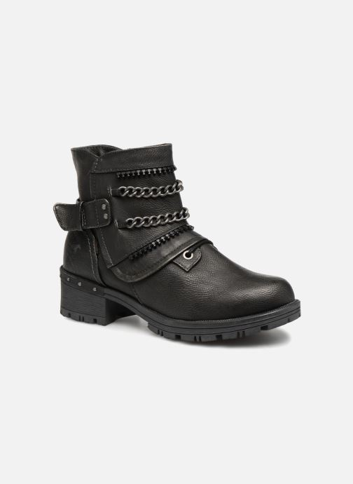 Ankle boots Mustang shoes Gea Grey detailed view/ Pair view
