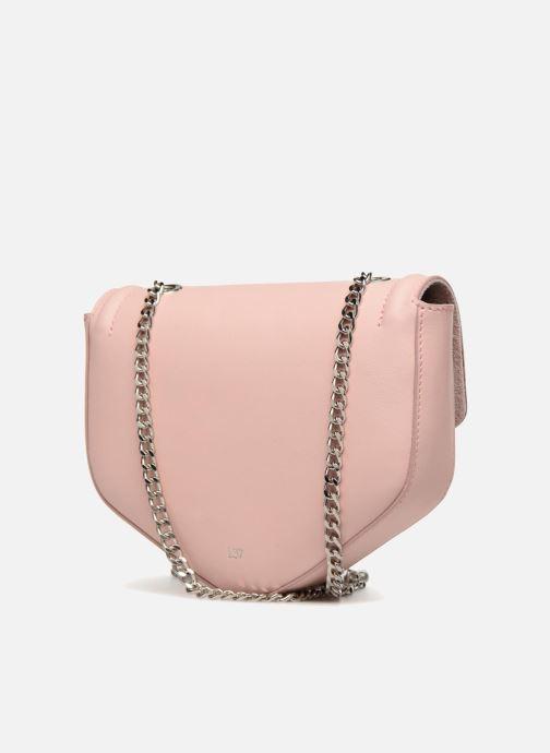 Bolsos de mano L37 Party Bag Rosa vista lateral derecha