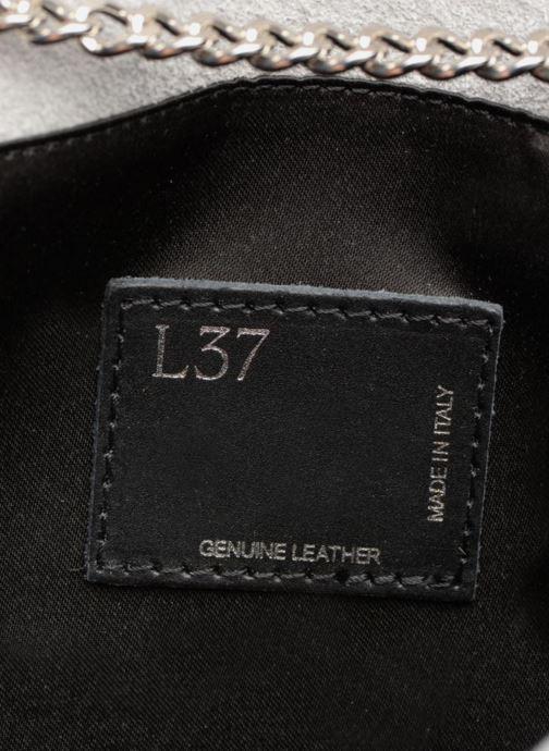 Handtassen L37 Party Bag Grijs achterkant