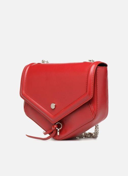 Sacs à main L37 Party Bag Rouge vue portées chaussures