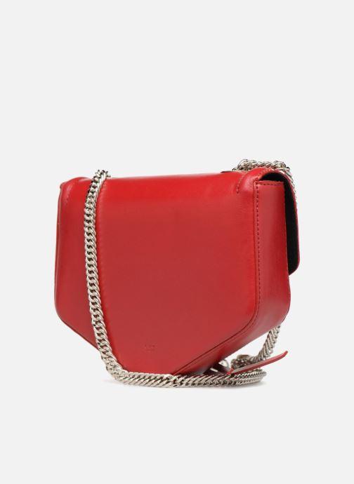 Bolsos de mano L37 Party Bag Rojo vista lateral derecha