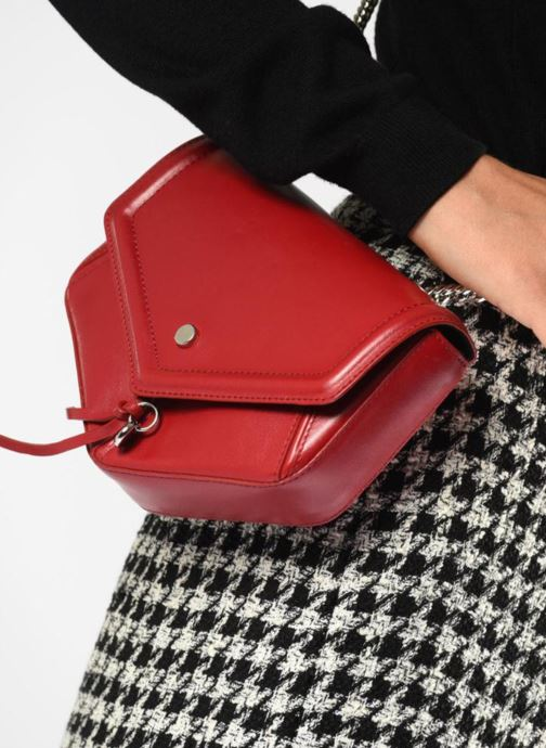 Handbags L37 Party Bag Red view from underneath / model view