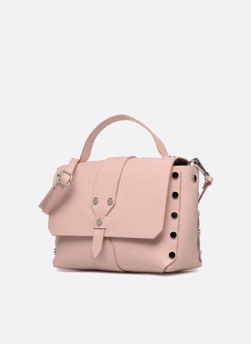 Borse L37 Wow bag Rosa modello indossato