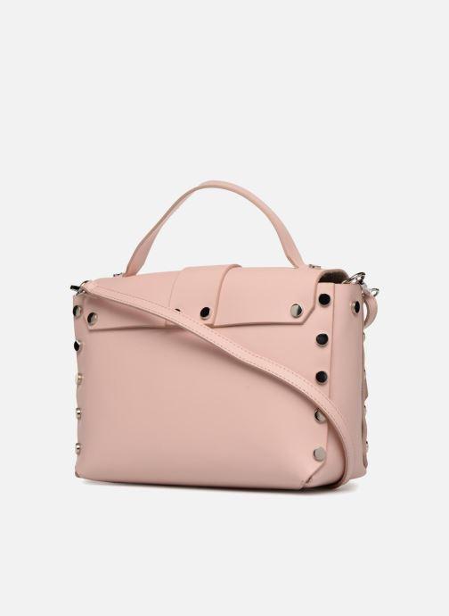 Bolsos de mano L37 Wow bag Rosa vista lateral derecha
