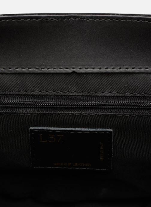 Bolsos de mano L37 Unique Negro vistra trasera