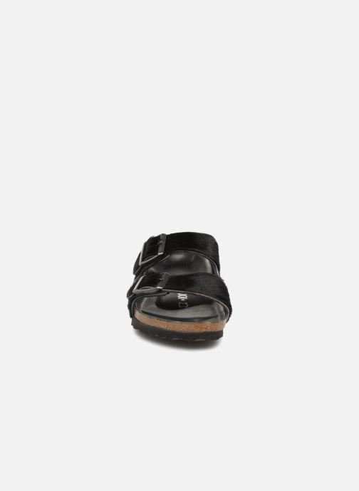 Wedges Birkenstock Arizona Fourrure Zwart model