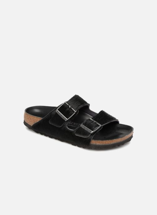 Wedges Birkenstock Arizona Fourrure Zwart detail