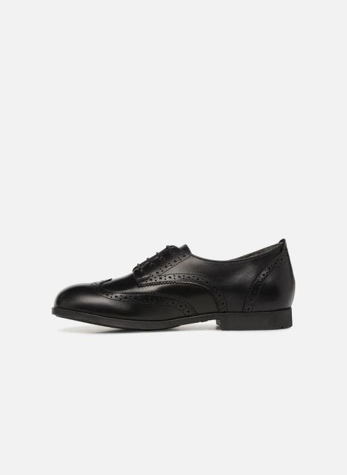 Zapatos con cordones Birkenstock Laramie Low Negro vista de frente