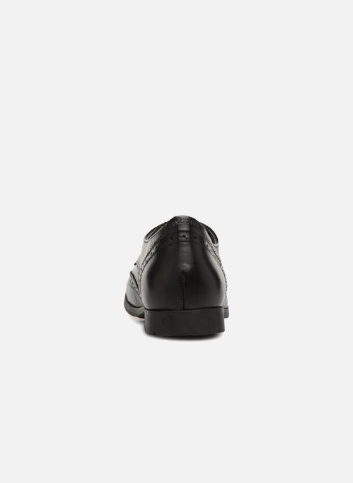 Zapatos con cordones Birkenstock Laramie Low Negro vista lateral derecha