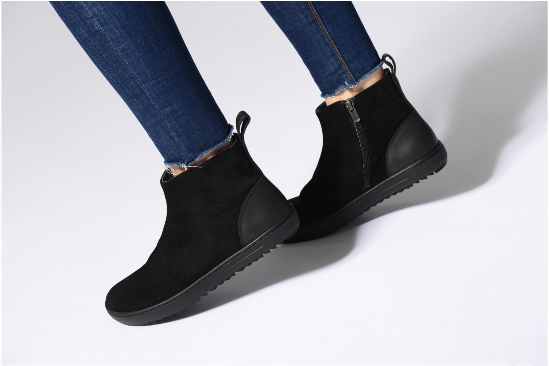 Bottines et boots Birkenstock Myra Noir vue bas / vue portée sac