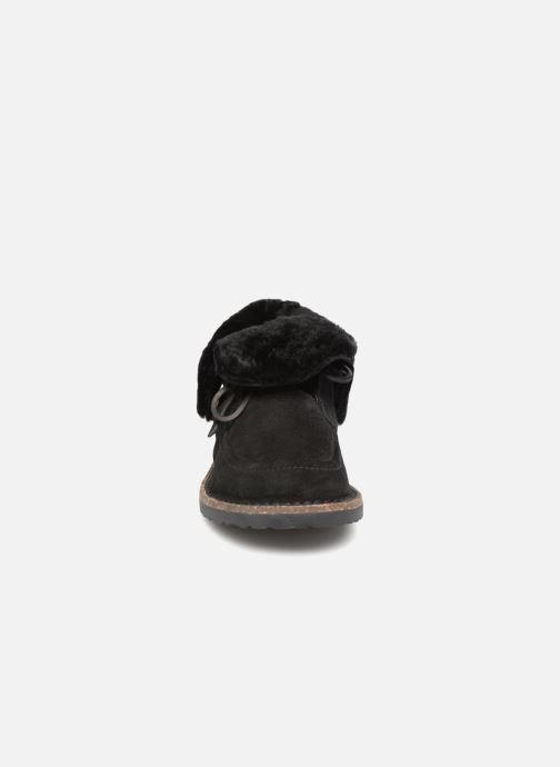 Zapatos con cordones Birkenstock Bakki Negro vista del modelo