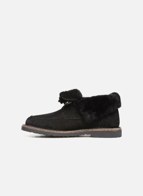 Zapatos con cordones Birkenstock Bakki Negro vista de frente