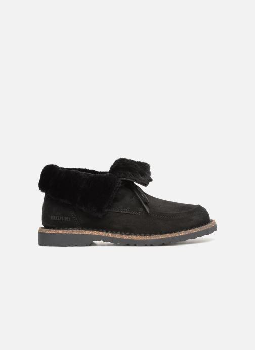 Zapatos con cordones Birkenstock Bakki Negro vistra trasera