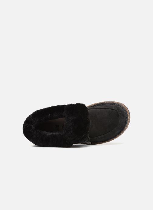 Zapatos con cordones Birkenstock Bakki Negro vista lateral izquierda