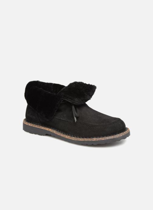 Zapatos con cordones Birkenstock Bakki Negro vista de detalle / par