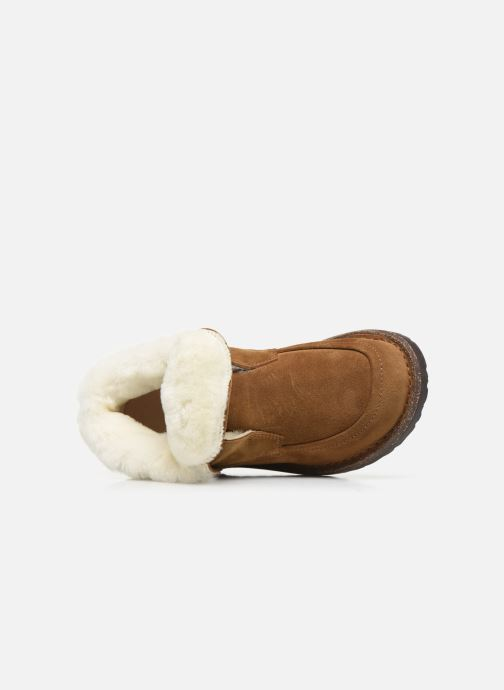 Chaussures à lacets Birkenstock Bakki Marron vue gauche