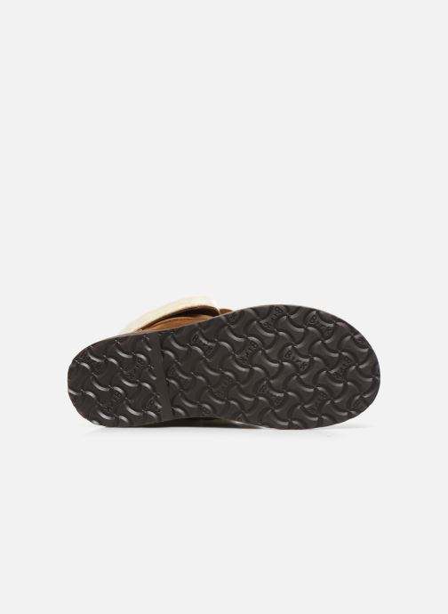 Chaussures à lacets Birkenstock Bakki Marron vue haut
