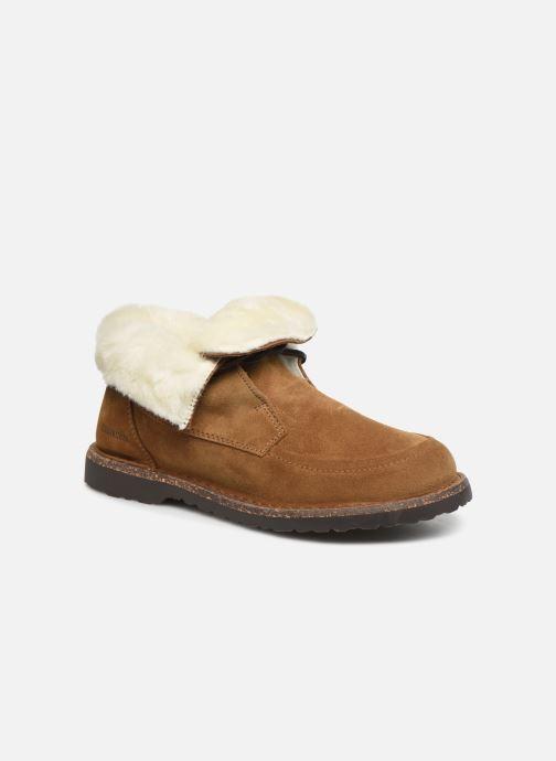 Chaussures à lacets Birkenstock Bakki Marron vue détail/paire