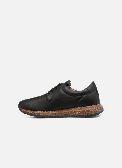 Sneaker Birkenstock Wrigley schwarz ansicht von vorne