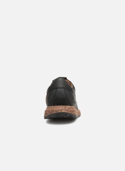 Sneaker Birkenstock Wrigley schwarz ansicht von rechts
