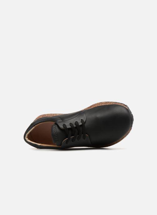 Sneaker Birkenstock Wrigley schwarz ansicht von links
