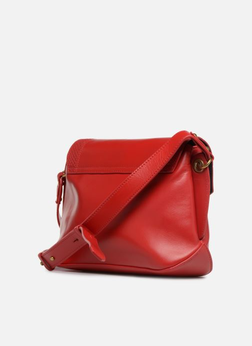 Handtaschen Nat & Nin Madlen rot ansicht von rechts