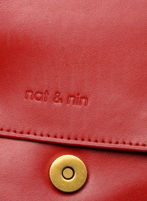 Handtaschen Nat & Nin Madlen rot ansicht von links