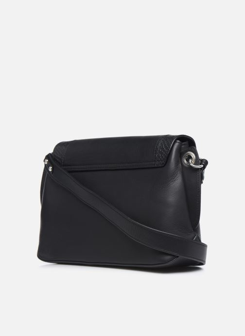 Handtaschen Nat & Nin Madlen schwarz ansicht von rechts