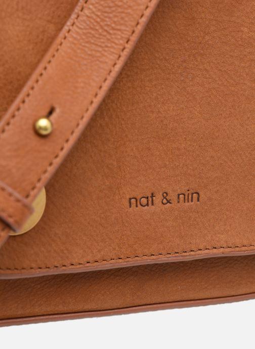 Bolsos de mano Nat & Nin Madlen Marrón vista lateral izquierda