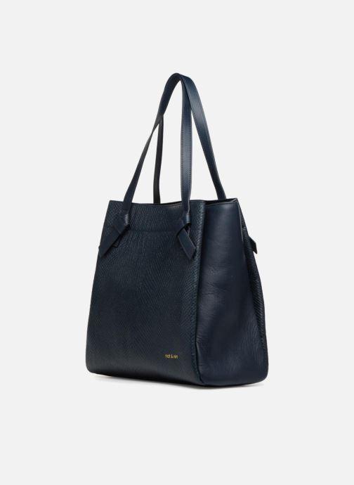 Handbags Nat & Nin Raquel Blue model view
